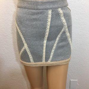 Thakoon Gray Mini Skirt